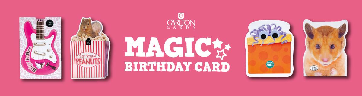 MAGIC BIRTHDAY CARD/マジックバースディカード