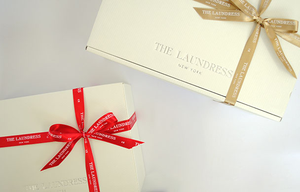 THE LAUNDRESS 期間限定 ホリデーラッピング