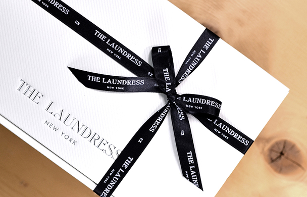 THE LAUNDRESS オリジナル ギフト ラッピング スタート