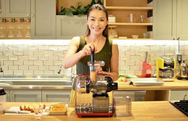 Omega JUICE CUBE 300でつくる Healthy Recipes Vol.01