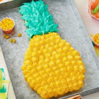パイナップルの簡単カップケーキ♪