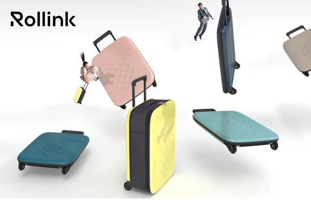 世界最薄!折り畳めるスーツケース「FLEX」 日本初上陸!