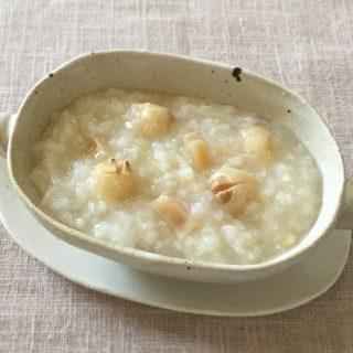 【BUYDEEM】不眠が気になる時に 蓮の実と干し貝柱のおかゆ Recipe by 薬膳料理家 タナカトウコ