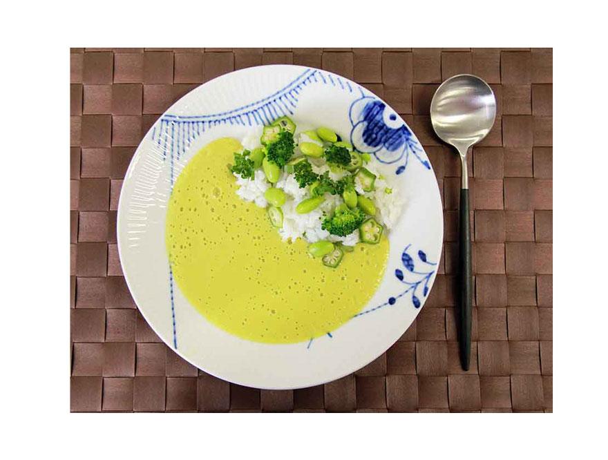 【バイタミックス/Vitamix】美容の味方<枝豆>でグリーンカレー