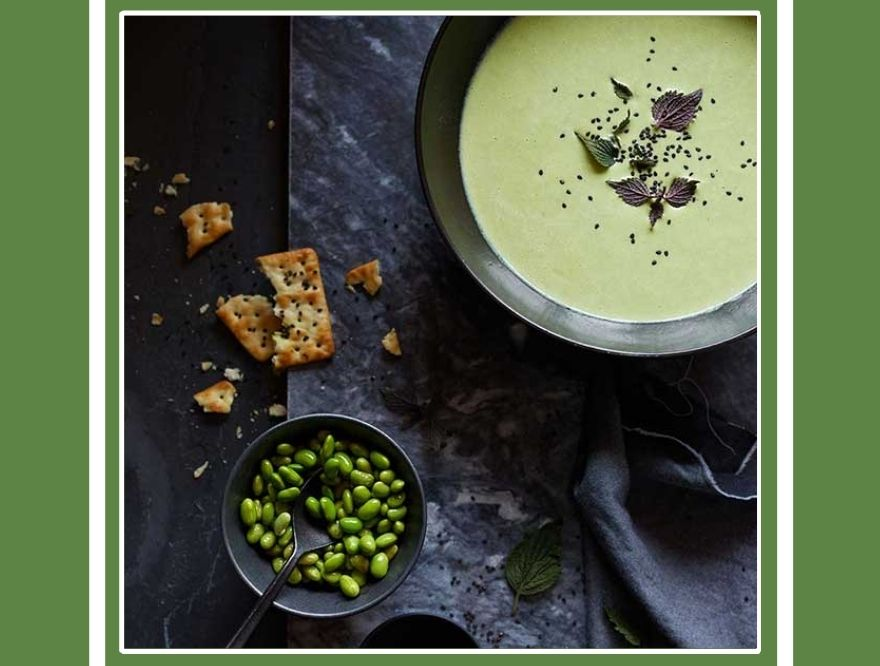 【Vitamix/バイタミックス】冷製でもホットでも。枝豆のスープ