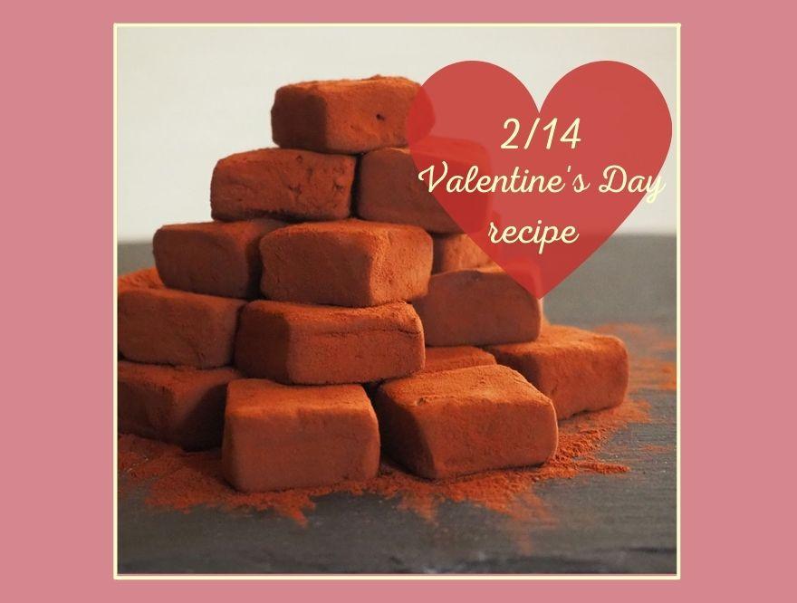【Vitamix/バイタミックス】バレンタインに♡とろける生チョコレート