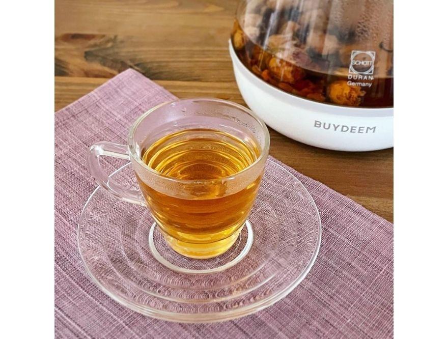 【BUYDEEM/バイディーム】夏の薬膳ティーレシピ第7弾 ローズヒップの花茶
