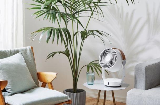 3D送風と静音で過ごしやすい温度に。部屋干しでも大活躍!