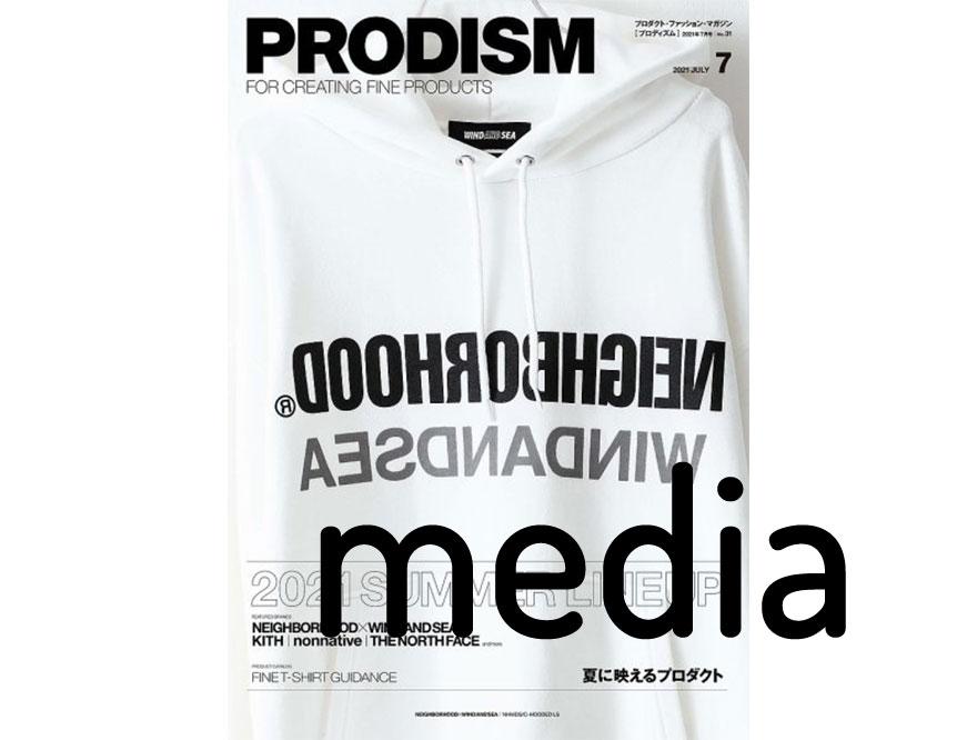 【PRIDE+GROOM】 雑誌掲載情報(PRODISM 7号月)