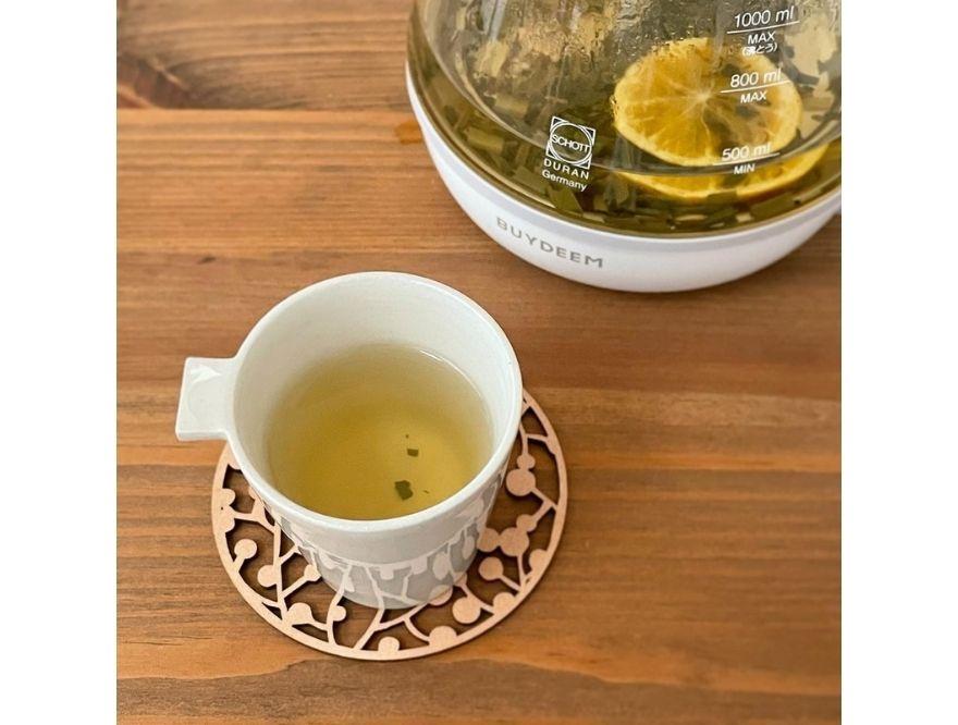【BUYDEEM/バイディーム】夏の薬膳ティーレシピ第8弾 みかんとミントのリフレッシュ茶
